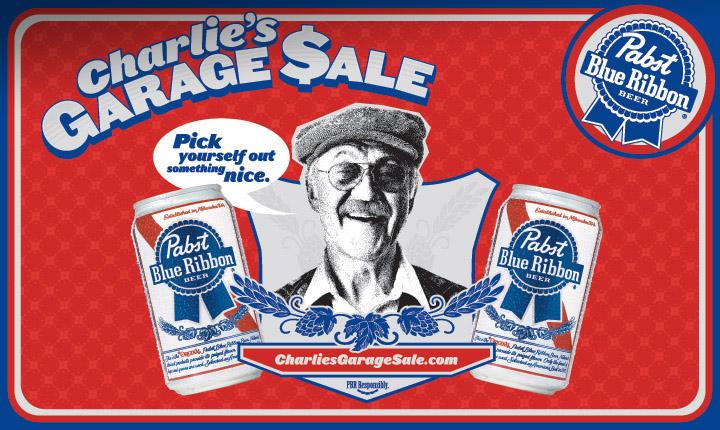 Charlie's Garage Sale